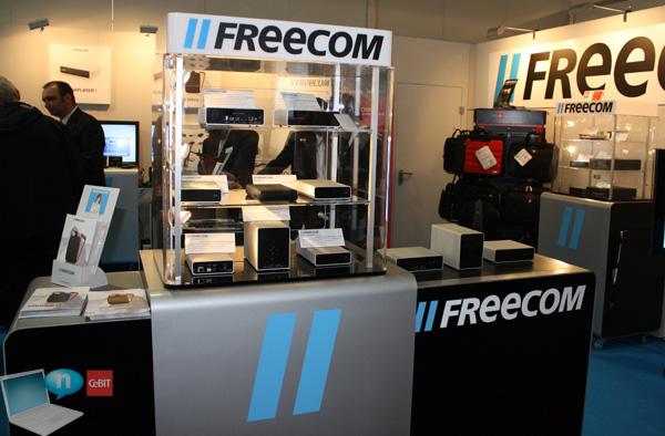 Freecom stand