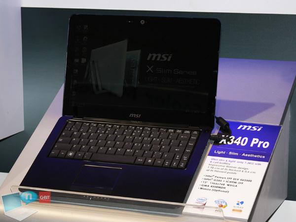 MSI X-Slim x340pro