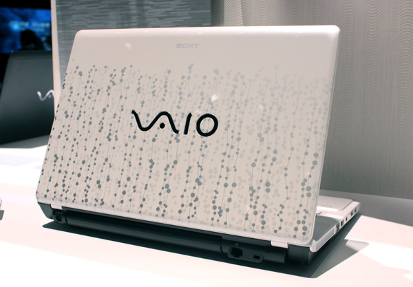 Sony Vaio CW bianco con cover decorata