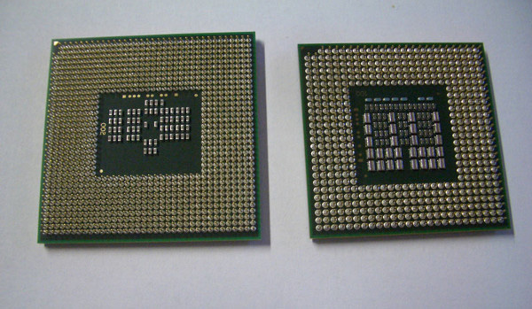 Chipshot di Core i7 Mobile