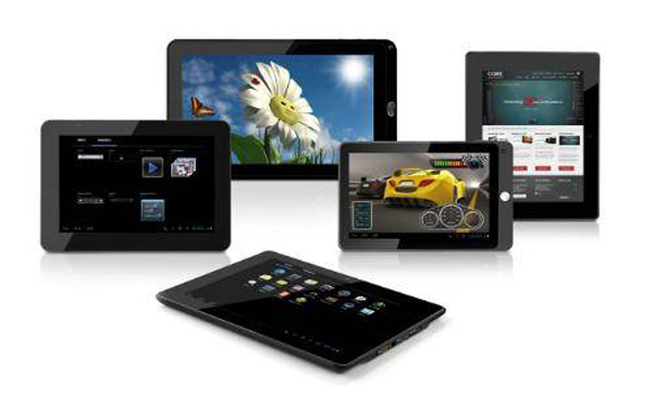 Coby Tablet con Android 4.0