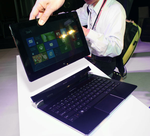 Tablet Compal con AMD Trinity e Windows 8