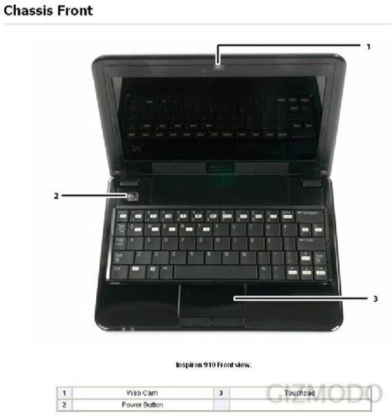 Dell Inspiron Mini 910