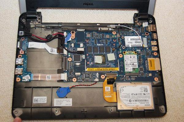 Dell Mini 12 disassemblaggio