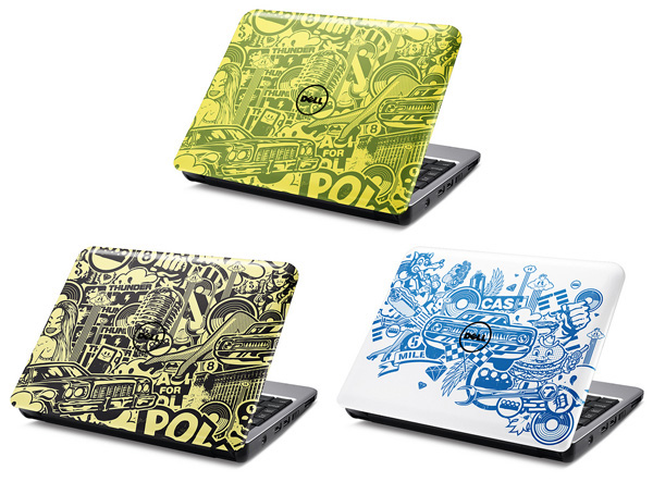 Dell Inspiron Mini 12 Stickers