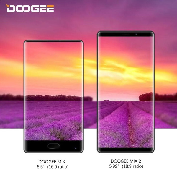 Doogee MIX 2 vs Doogee MIX