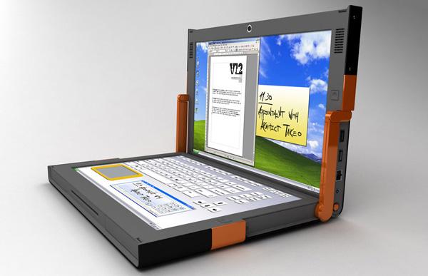 Estari Canova in modalità laptop