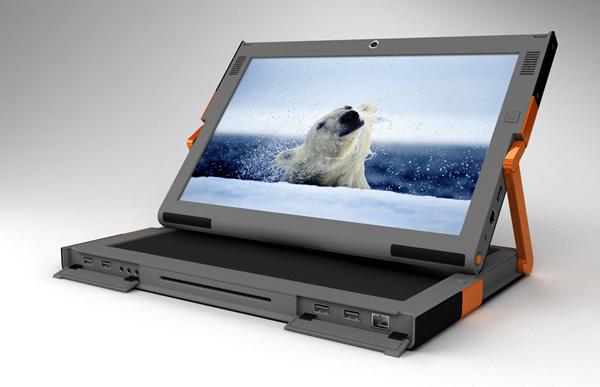 Estari Canova il notebook con doppio schermo touch