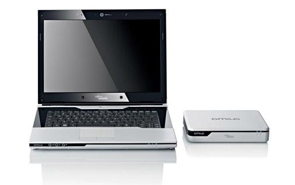 Amilo Graphic Booster e ultraportatile Fujitsu-Simens Amilo Sa3650