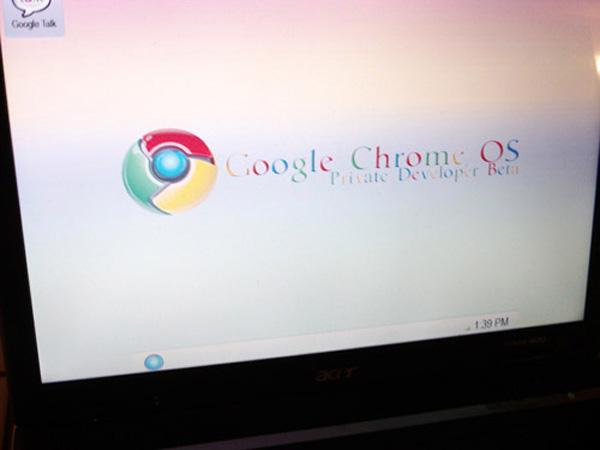Google Chrome OS fake