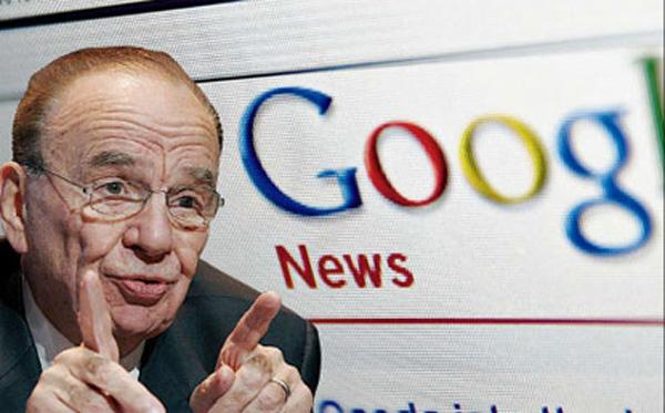 Google News pagamento con Murdoch