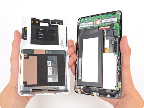 Google Nexus 7 disassemblaggio