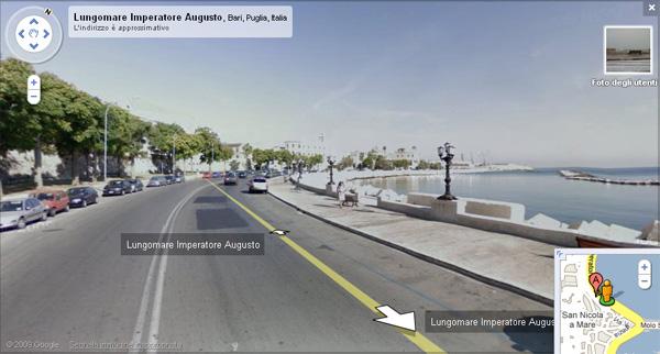 Google Street View su 14 città italiane