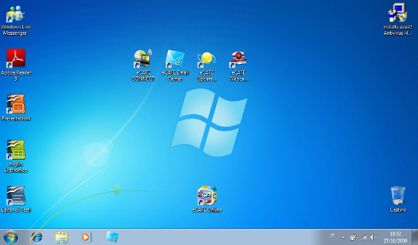 Windows 7 su eCAFE