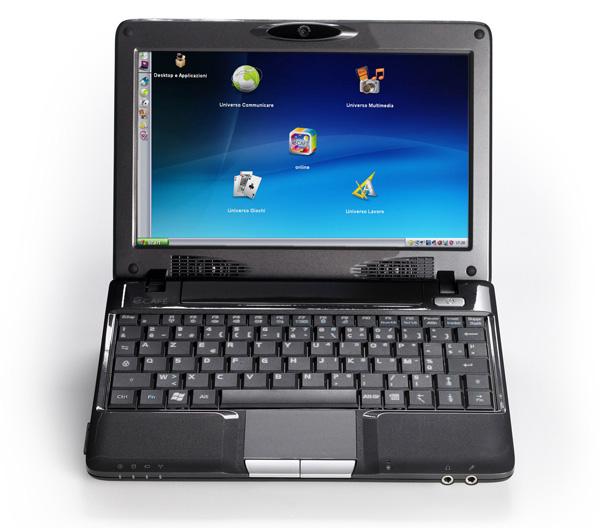 Windows XP ed interfaccia eCafé