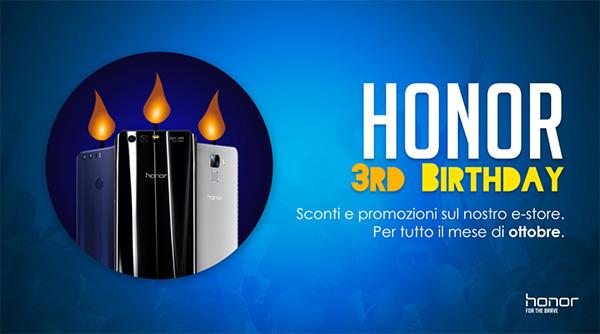 Honor: sconti sullo store ufficiale su tutti gli smartphone