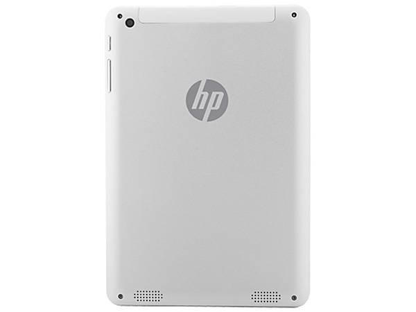 HP 8 1401 ha una cover posteriore in alluminio
