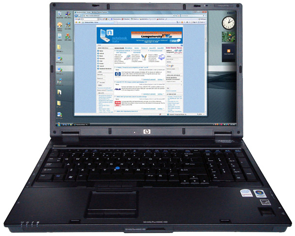 HP Compaq 8710p notebook