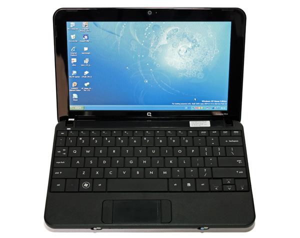 HP Compaq Mini 110 aperto