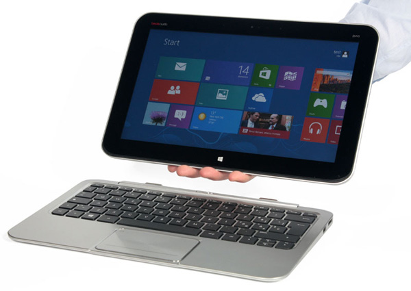 HP Envy X2 è un tablet con tastiera dock