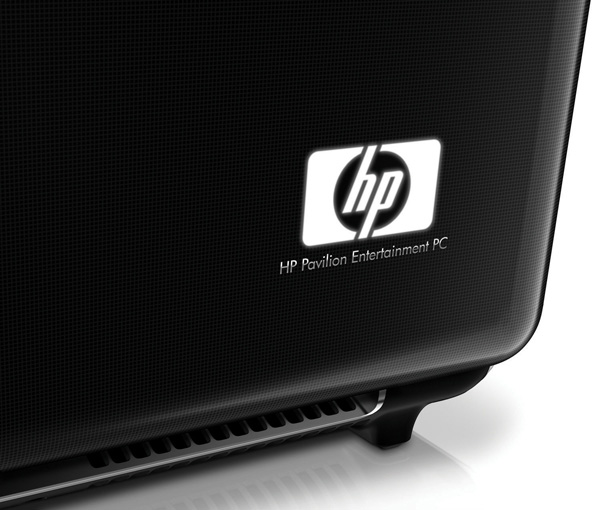 HP dv7 design logo