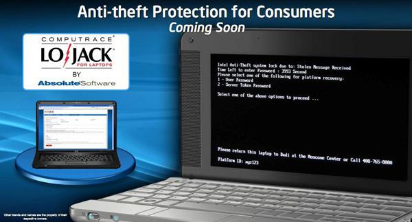 Intel Anti Theft