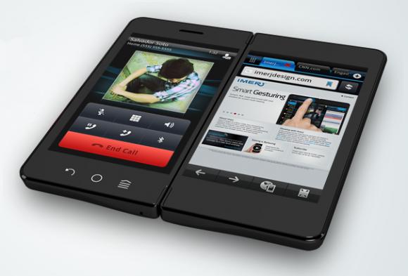 Imerj Smartpad, smartphone dual screen o tablet ...