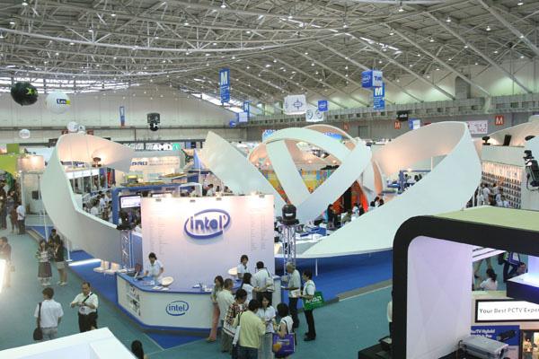 Intel al Computex 2008