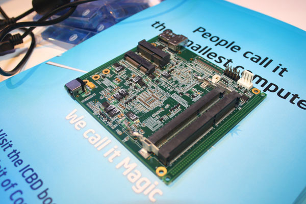 Intel NUC motherboard