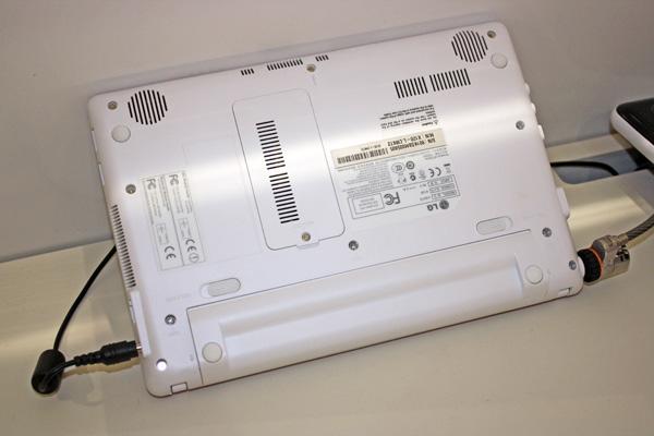 LG X120 fondo