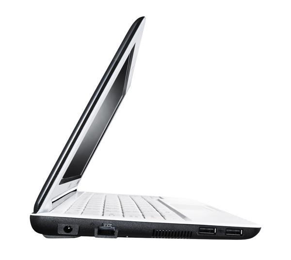 Netbook LG X130 lato sinistro