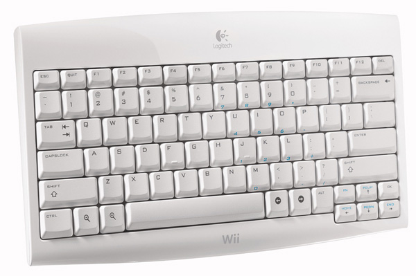 Logitech Cordless Keyboard for Wii