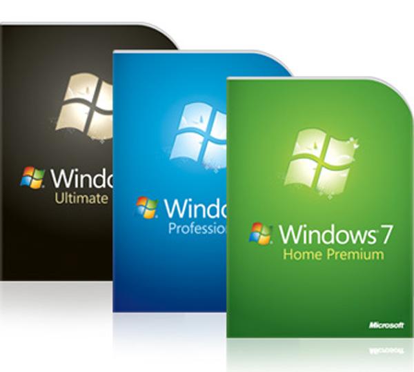 Confezioni di Windows 7