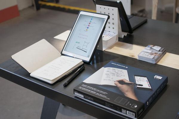 Moleskine Smart Writing Set: per scrivere appunti su smartphone e tablet