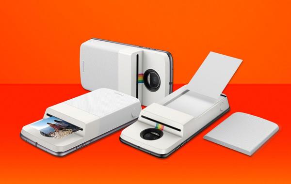 Motorola annuncia il nuovo Moto Mods Insta-Share Printer di Polaroid