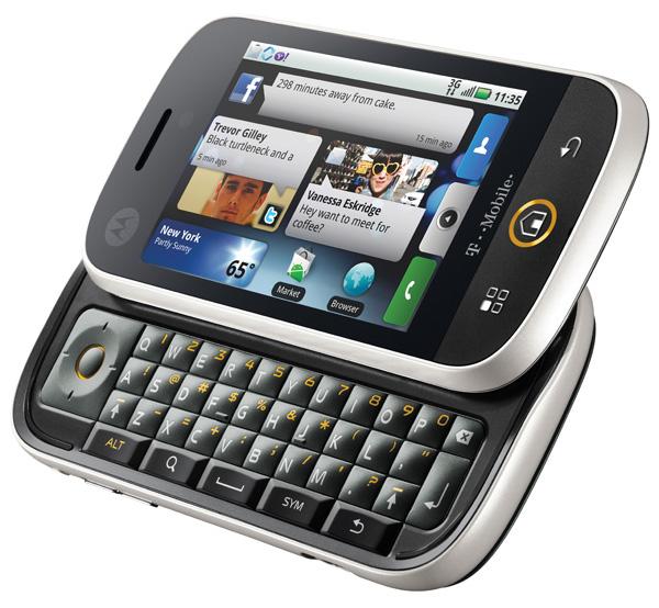 Motorola Cliq con Android