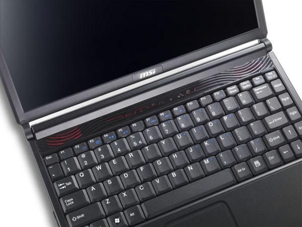 MSI EX300 tastiera