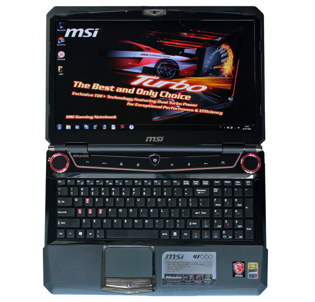 Notebook da gioco MSI GT660