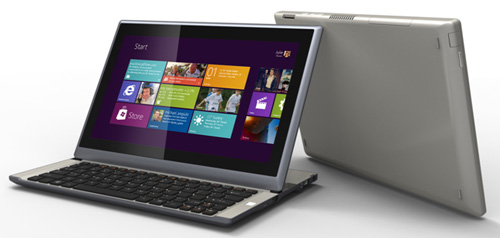 MSI S20, ultrabook slider con Ivy Bridge e Windows 8