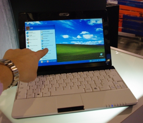 Netbook MSI Wind U120H touchscreen