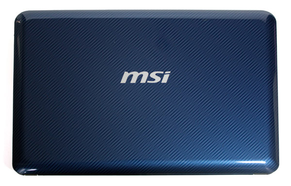 MSI Wind U135 con cover blu