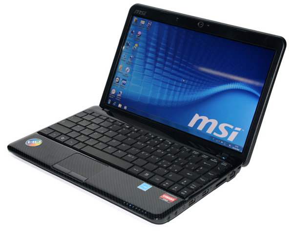 MSI Wind U250 in prova