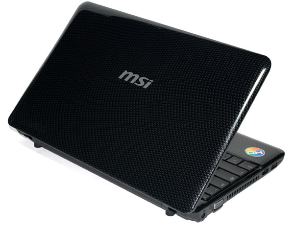 MSI Wind U250, design della cover