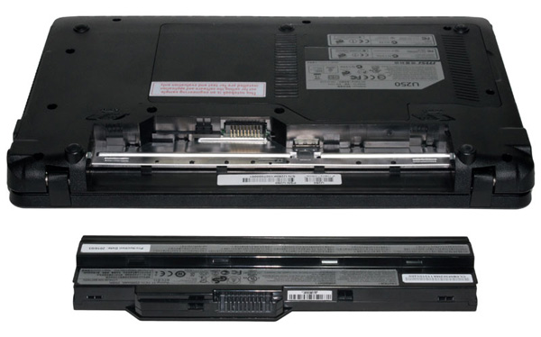 Batteria del netbook MSI Wind U250
