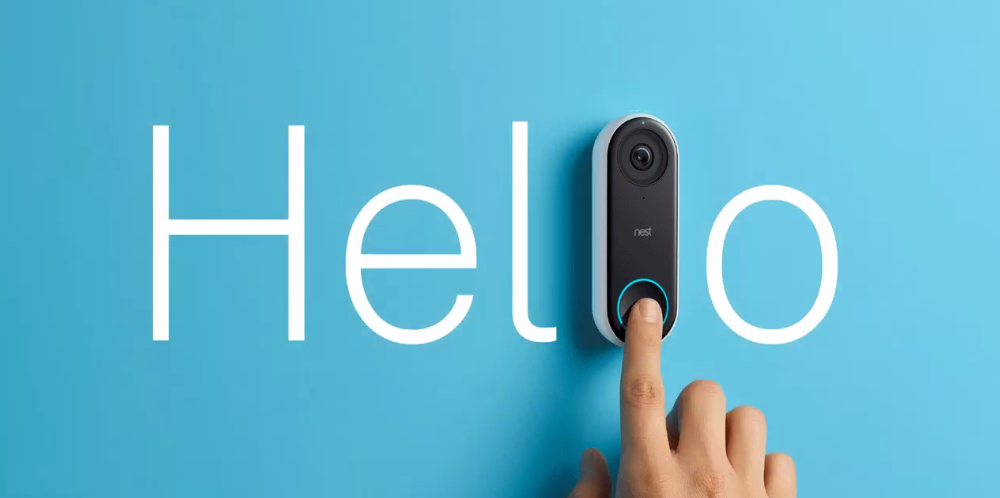 Nest secure hello e cam iq per la smart home for Hd esterno non rilevato