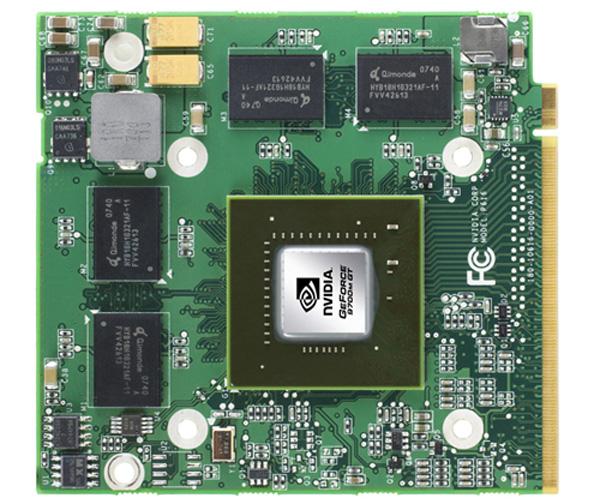 Nvidia Geforce scheda MXM