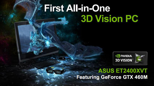 Nvidia GeForce 400M su all-in-one Asus