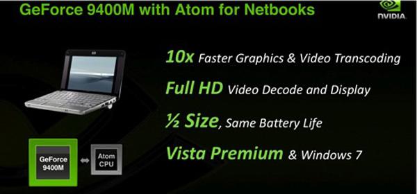 Nvidia Ion nei netbook