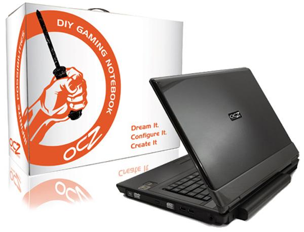 OCZ DIY Gaming Notebook