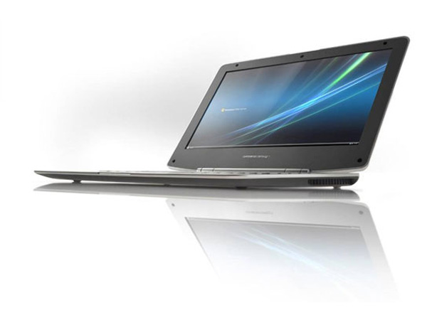 Profilo del notebook ultrasottile U-Leader Design Conte by Olidata